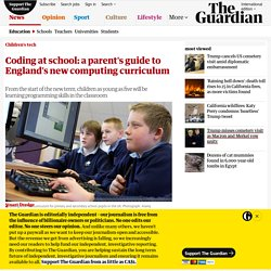 Coding at school: a parent's guide to England's new computing curriculum