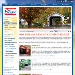 New England's Covered Bridges