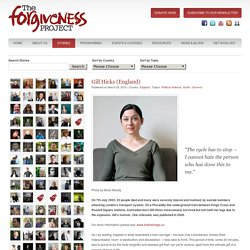 Gill Hicks (England) - Forgiveness Project