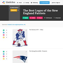 The Best Logos of the New England Patriots - Listicles