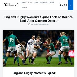 England Rugby Women's Squad Look To Bounce Back