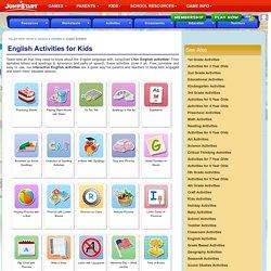English Activities – Free, Fun English Activities for Kids