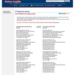 Songs - Aprender ingl s con letras de canciones en ingl s - Another town, another train - Abba