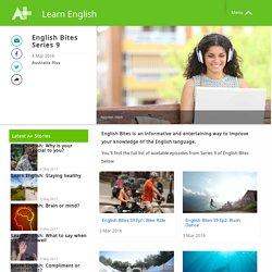 English Bites Series 9 - Learn English - Australia Plus