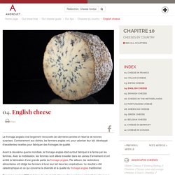 English cheese