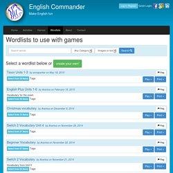 English Commander- מחולל 5 משחקים:בינגו,זיכרון,4 בשורה, איקסעיגול