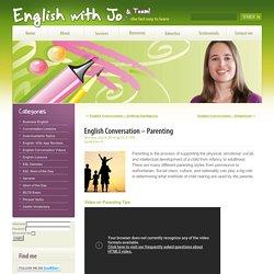 English Conversation – Parenting