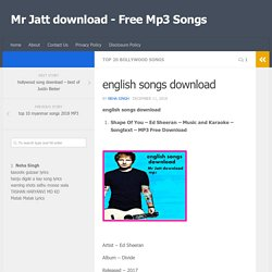 Top Bollywood song Download