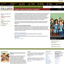 English Learner Education Guidelines