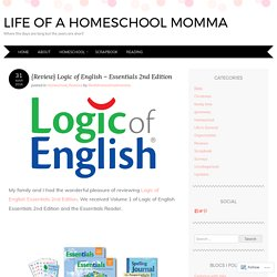 {Review} Logic of English – Essentials 2nd Edition