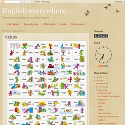 English everywhere: VERBS