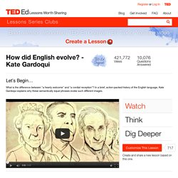 How did English evolve? - Kate Gardoqui