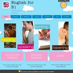 ENGLISH FOR B1
