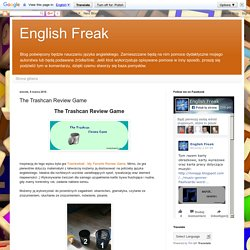 English Freak: The Trashcan Review Game