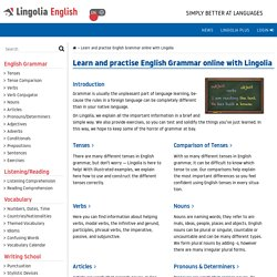 Lingolia: English Grammar
