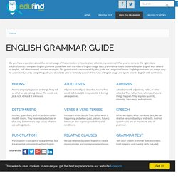 English Grammar: a complete guide