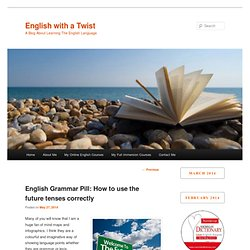 English Grammar Pill: How to use the future tenses correctly