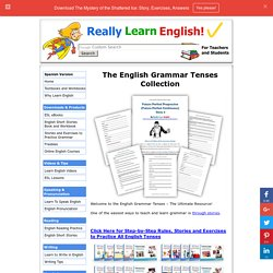 English Grammar Tenses: Stories, Exercises and Answers