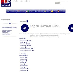 Learn English Grammar - English Grammar Guide - English Learning Online