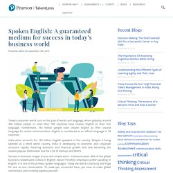 Benefits of having a workforce with English comprehension