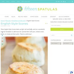 English Style Scones - Incredibly Fluffy and Delicious Scone Recipe