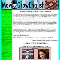 Watch movies, learn English.