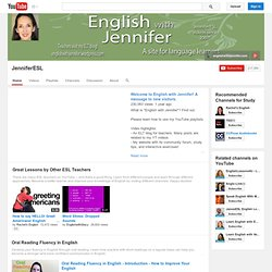 JenniferESL's Channel