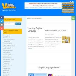 English Language Games