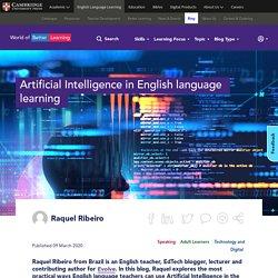 AI In English Language Learning