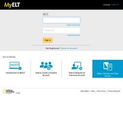 Online English Language Learning