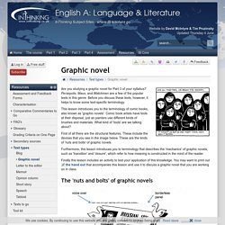 IB English A: Language & Literature: Graphic novel