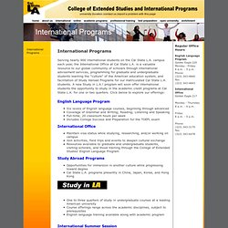 English Language Program Cal State LA