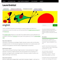 english – Laure Endrizzi