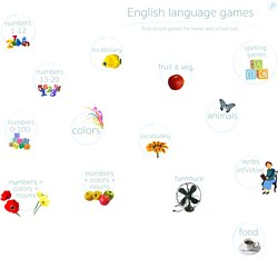 English games: ESL online learning exercises