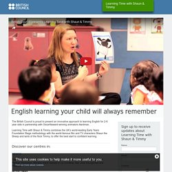 English learning your child will always remember