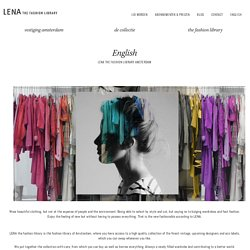 English - LENA the fashion library