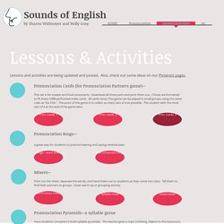 Lessons/Activities