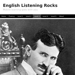 English Listening Lesson: Tesla
