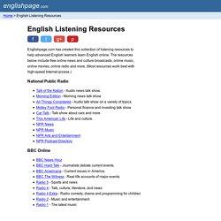 English Listening Resources