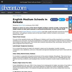 English Medium Schools In Kolkata