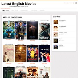English Movies -Watch Online Movies for Free
