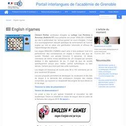 English n'games