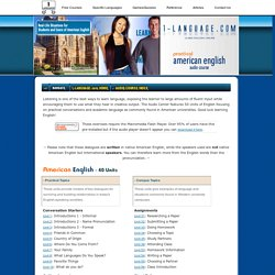 Learn English Online! Free Audio Course from 1-language.com