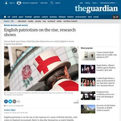 English patriotism on the rise, research shows