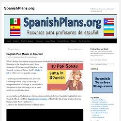English Pop Music in Spanish
