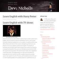 Learn English Harry Potter lesson