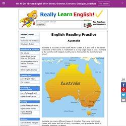 English Reading Practice – Australia