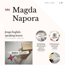 Jenga English- speaking lesson – Magda Napora