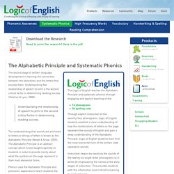 Logic of English - Systematic Phonics
