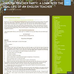 English Teacher Party: A Look into the Real Life of an English Teacher